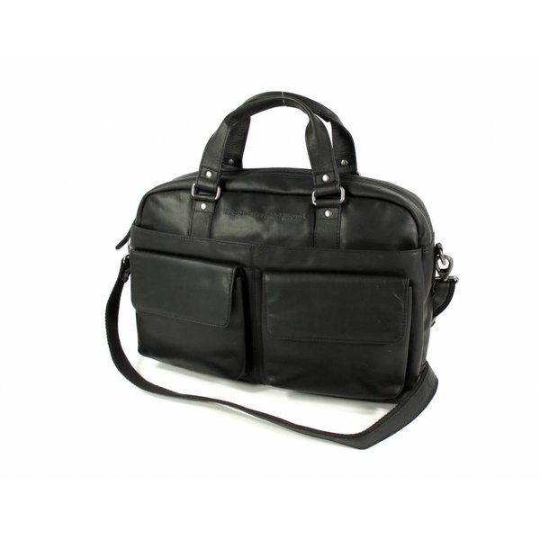 Dames business tas westernbag laptop tas BATH zwart
