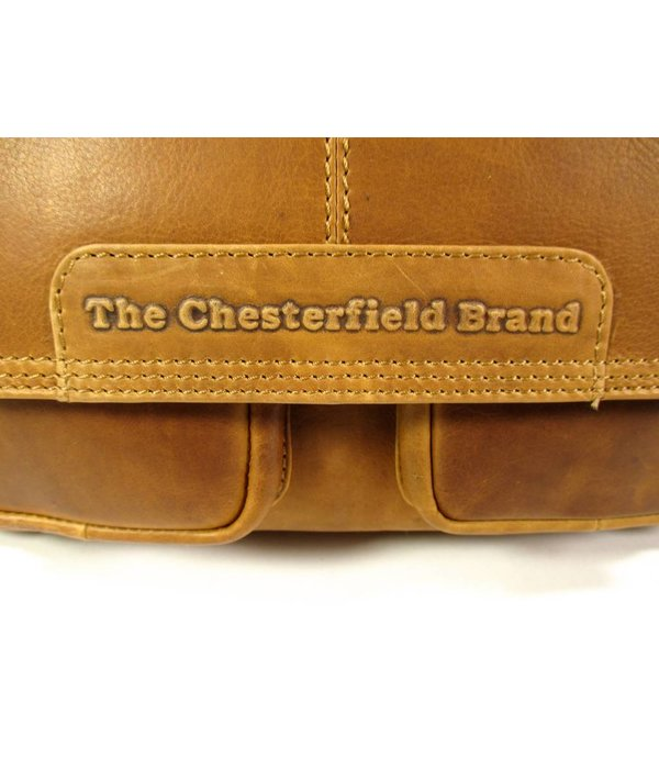 Chesterfield Kleptas Medium DALE wax pull up cognac