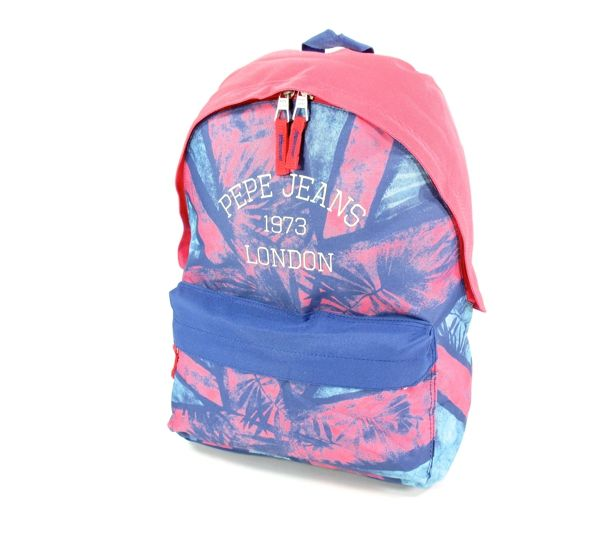 Pepe Jeans Rugzak backpack 42 cm Blauw roze