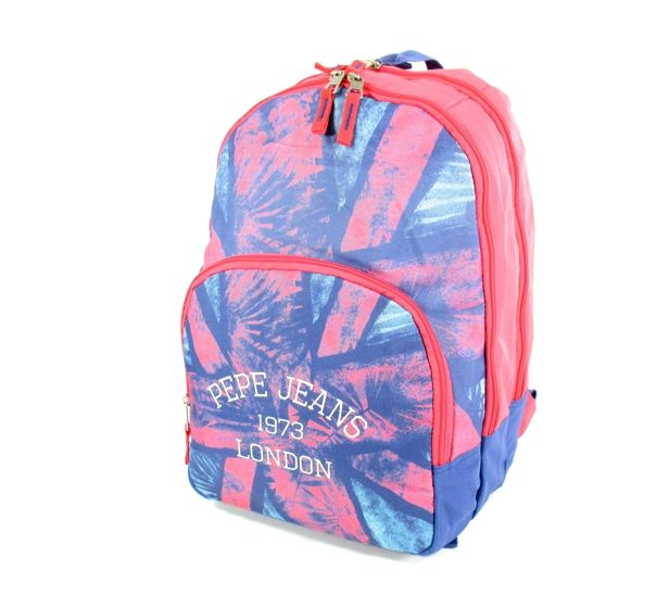 Pepe Jeans Rugzak backpack 44 cm Blauw roze