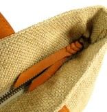 House of Sakk Handtas strandtas CAPE bag Naturel / cognac