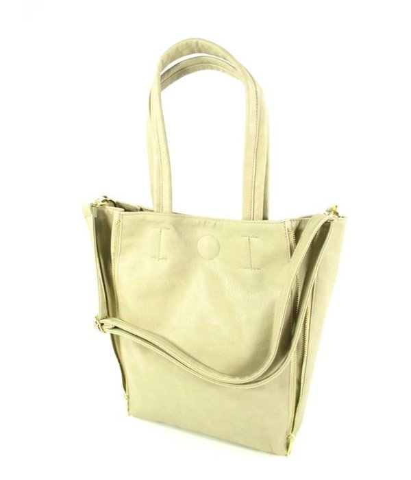 Genshii Shopper damestas Let's Sparkle Sand