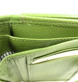 Berba Dames rits portemonnee met klep klein SPORT BIA Avocado