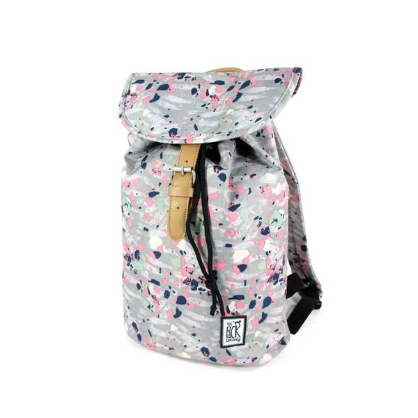 8ea88ac185c The Pack Society Daypack rugzak Grijs Speckles allover