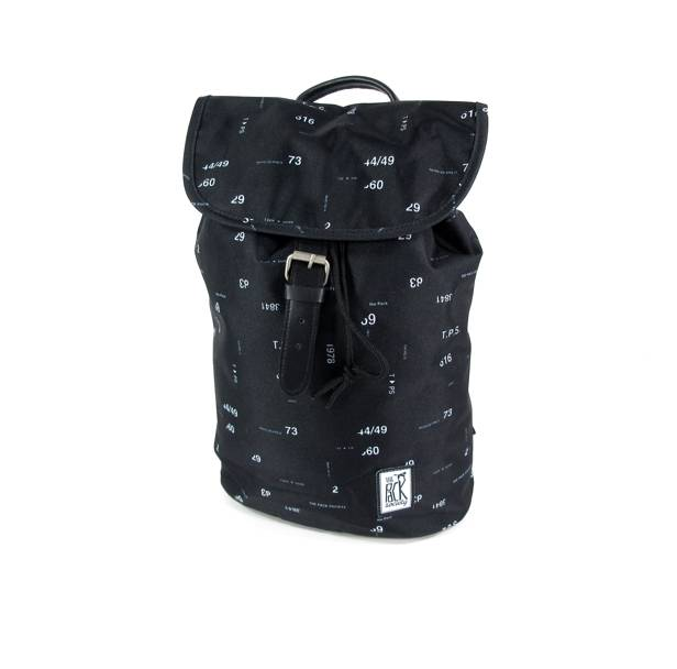 The Pack Society Daypack rugzak Zwart Numbers allover