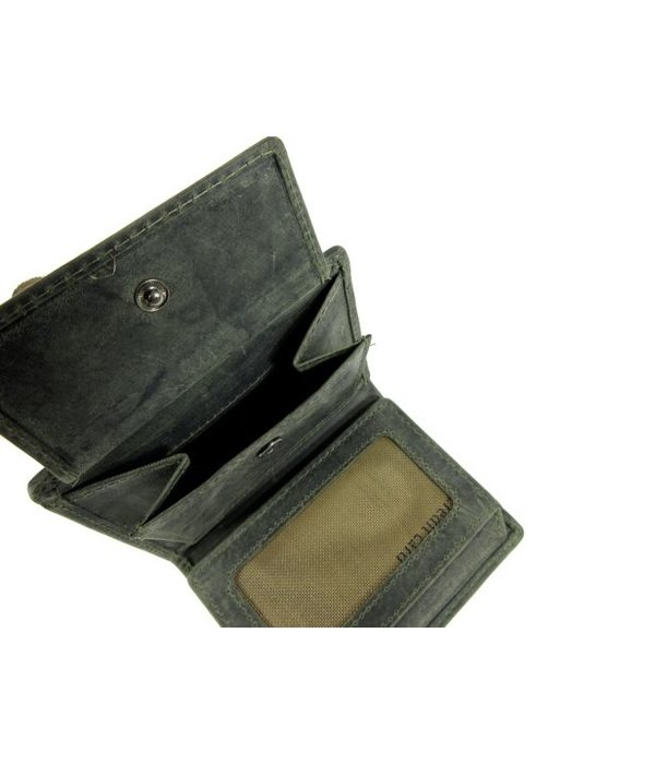 BARBAROSSA Leren Heren billfold RUVIDO Military
