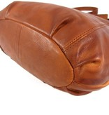 Chesterfield Schoudertas damestas Black Label MANDY Cow Hi-veg soft Cognac
