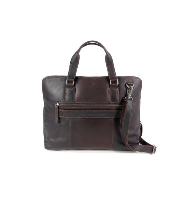 Chesterfield Ruime dames office bag L HANA wax ull up Bruin