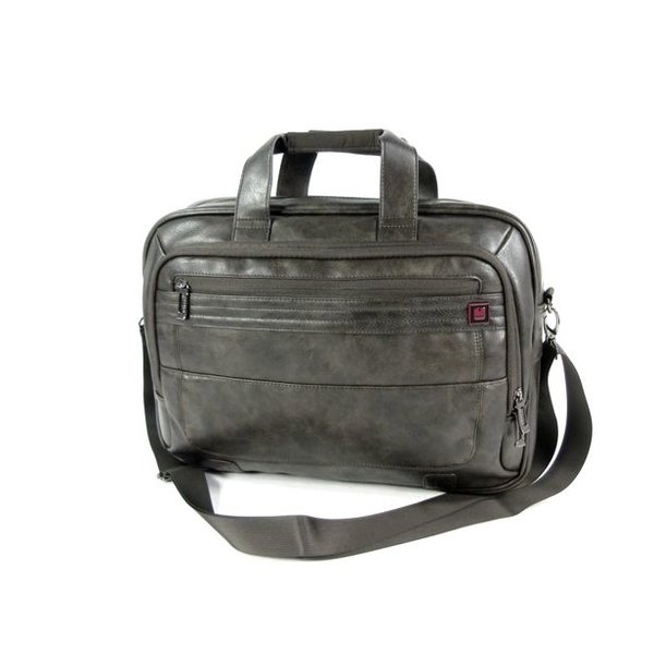 "PU Briefcase Documententas 15,6"" laptoptas CIVIC Chocolate"