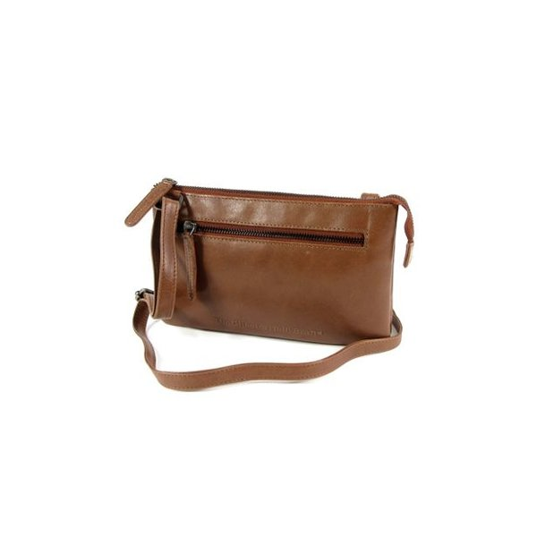 Trendy schoudertas damestas EIRA Odean cow leather Cognac