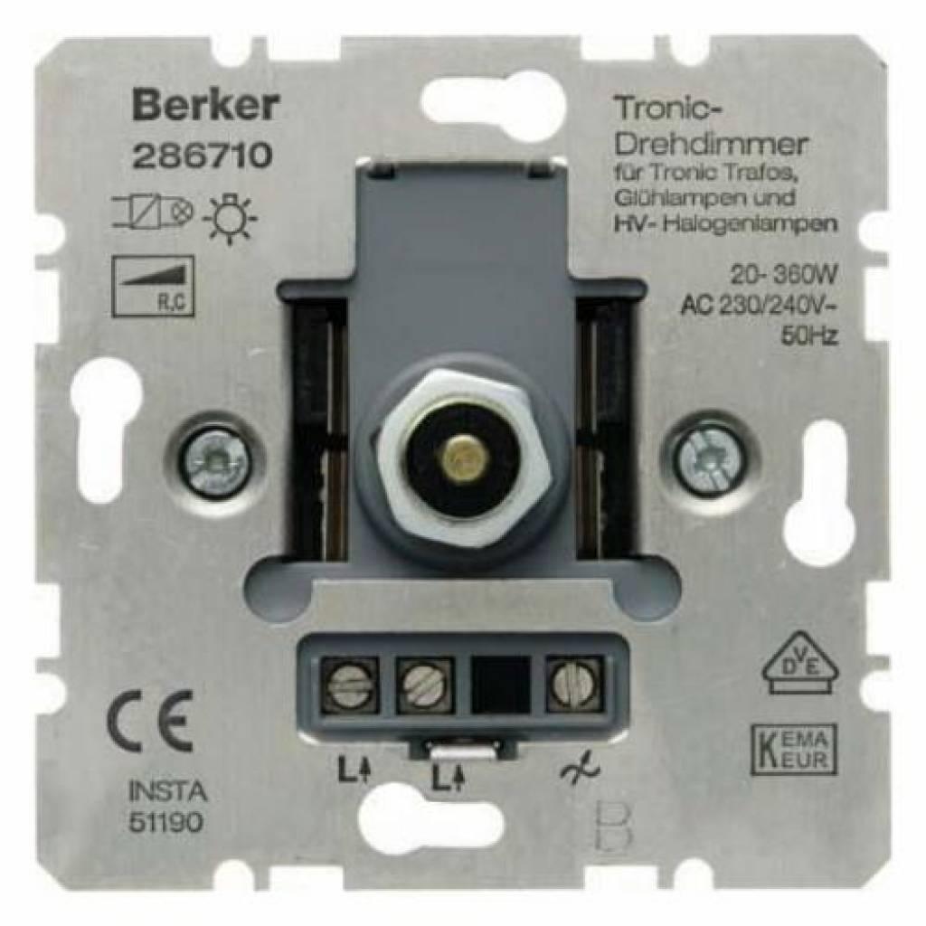Berker Led Dimmer 123ledspots