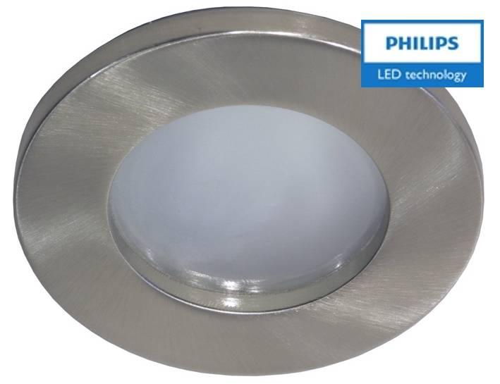 Philips Badkamer inbouwLEDspot 12V 3W armatuur+spot (IP65) - 123ledspots
