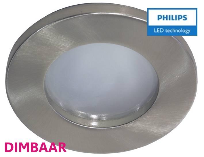 Philips 3 stuks badkamer inbouwLEDspot 12V 6,5W arm.+spot (IP65 ...