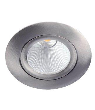 LED inbouwspot 'Bex', warm wit, 8 Watt Dimbaar, Kantelbaar