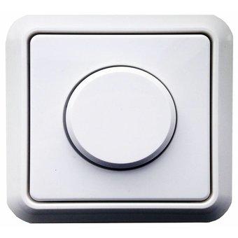 N&L Afdekplaat, knop en raam tbv N&L dimmer