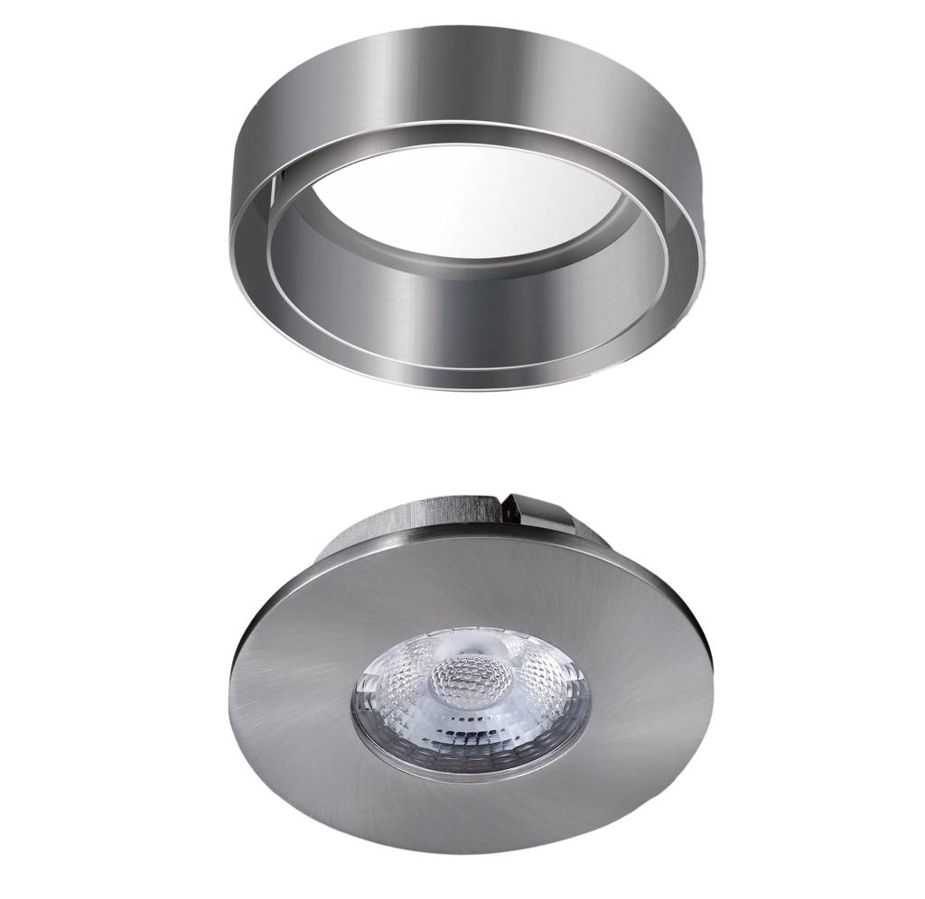 Led spots opbouw dimbaar led verlichting watt for Led verlichting spots dimbaar