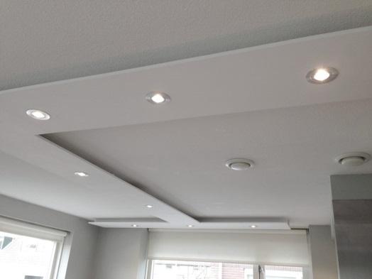 Led Inbouwspots Keuken : LED keukenverlichting moet boven de werkplek geplaatst worden voor een