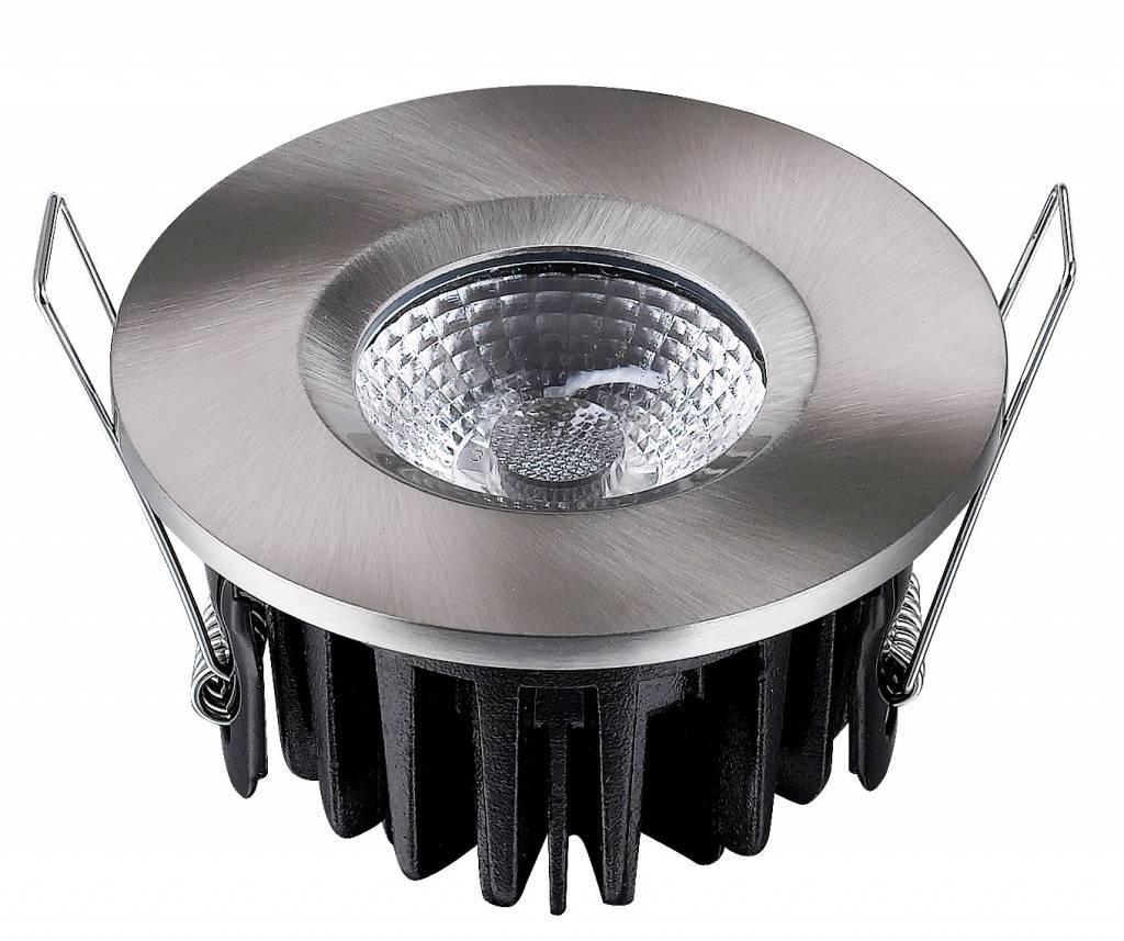 Set 3x Badkamer Inbouw LED spot Kreta 8W, dimbaar (IP65) - 123ledspots