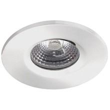 Witte badkamer Inbouwspot LED Kreta 8W, dimbaar (IP65)