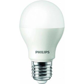 Philips LEDbulb, 6 Watt gloeilamp-vervanger Deze LED lamp vervangt een gloeilamp van ca. 40 Watt, grote fitting E27