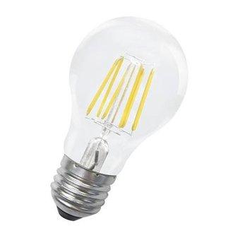 Bailey Kaars LED lamp, 'gezellig' 6 Watt, Warm wit, grote fitting E27. Filament lamp Deze LED lamp vervangt een gloeilamp van ca. 40 Watt,