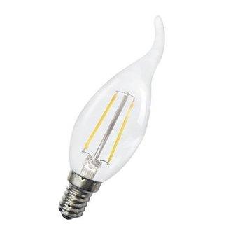 Bailey Kaars LED lamp, 'gezellig' 1,8 Watt, Warmwit, kleine fitting E14. Filament lamp Deze ledlamp vervangt een gloeilamp van ca. 15 Watt.