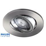Philips LED inbouwspot 4W, dimbaar en kantelbaar