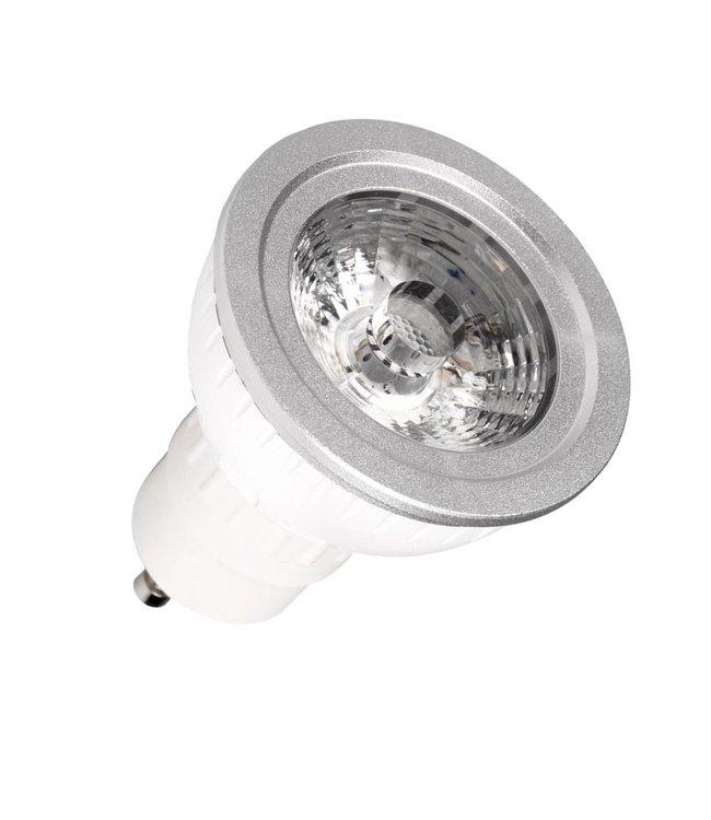 LEDspot, dimbaar, GU10, 5 Watt, warmwit, vervangt 50W