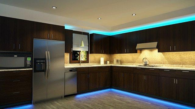 Led Armatuur Keuken : Keukenverlichting kopen besparen met led verlichting ledspots bv