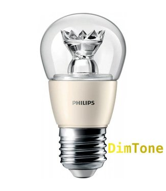 Philips DIMTONE LED lamp, 6W, E27 Fitting, 2200-2700K, Dimbaar, Warm Wit (40W vervanging)