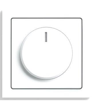 Busch - Jaeger Plaat + knop Future Lineair Wit [5129373]