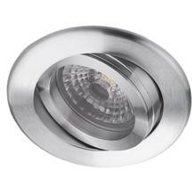 Aluminium LED inbouwspot PORTO, 5 W (50W), dimbaar en kantelbaar