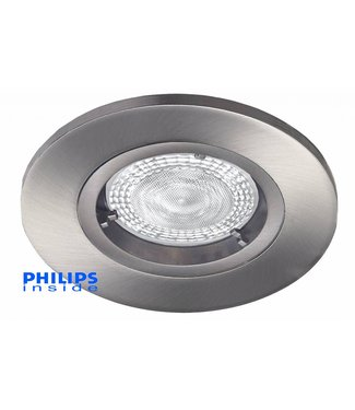 philips led inbouwspot 49w 50w dimbaar