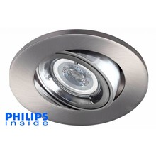 Philips LED inbouwspot 4W (35W), dimbaar en kantelbaar