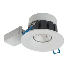 Badkamer LEDspot Venetië 8 Watt, IP65 Dimbaar, Witte uitvoering, Warm wit licht