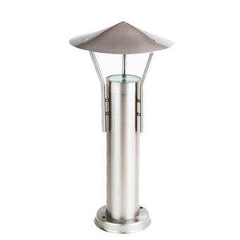 KL LIGHTING Staande Tuinlamp geborsteld RVS