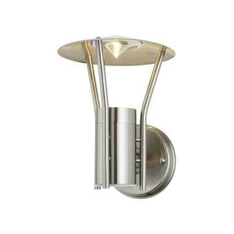 KL LIGHTING Tuin Wand Lamp / Armatuur, Geborsteld RVS