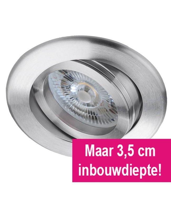 LED inbouwspot 6 Watt, dimbaar