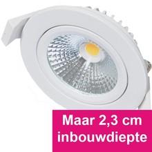 Inbouw Ledspot Star Wit, 5 Watt, Dimbaar Warm Wit IP54