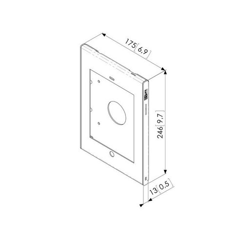 Vogel's Professional Tablock iPad Mini 1/2/3/4 wandhouder
