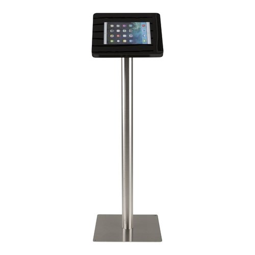 Tabletsolution iPad RVS Vloerstandaard