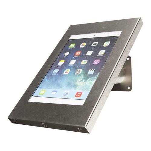 Tabletsolution iPad Wandhouder RVS, Wallmount iPad
