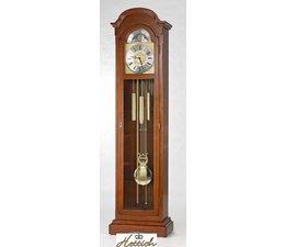 Hettich Uhren Standuhr 4-50 nußbaum lackiert Hermle Westminster Werk im Schwarzwald hergestellt