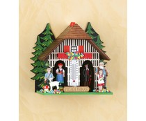 Trenkle Uhren Heidi weather house made Nr.832 12cm high in the Black Forest