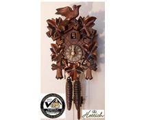 Hettich Uhren Cuckoo Clock 23cm mechanical at 1 day rack strike movement