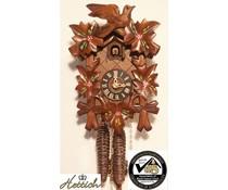 Hettich Uhren Kuckucksuhr 23cm mit 1 Tag mechanischem Rechenschlagwerk