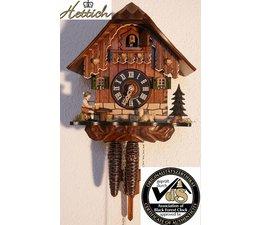 Hettich Uhren Sehr schönes Schwarzwaldgehäuse mit beweglichem Biertrinker.