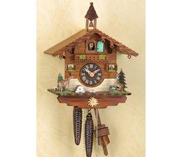 Trenkle Uhren Sehr schöne handgefertigte Kuckucksuhr 29cm hoch