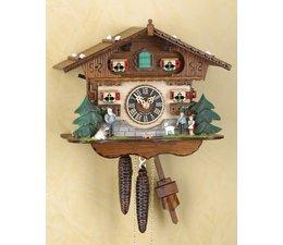 Trenkle Uhren Sehr schöne handgefertigte Kuckucksuhr 27cm hoch