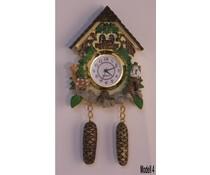 Hettich Uhren Cuckoo Clock with genuine quartz movement with magnetic